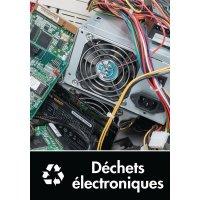 Signalétique recyclage - Déchets électroniques