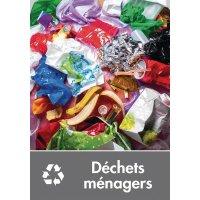 Signalétique recyclage - Déchets ménagers