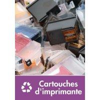 Signalétique recyclage - Cartouches d'imprimante