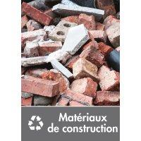 Signalétique recyclage - Matériaux de construction