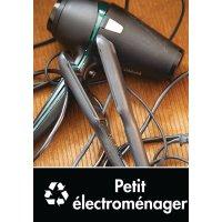 Signalétique recyclage - Petit électroménager
