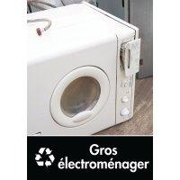 Signalétique recyclage - Gros électroménager