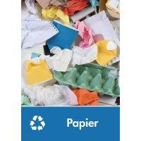 Signalétique recyclage - Papier