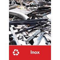Signalétique recyclage - Inox