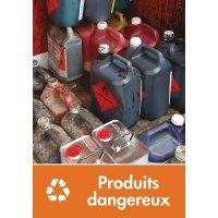 Signalétique recyclage - Produits dangereux