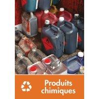 Signalétique recyclage - Produits chimiques
