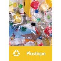 Signalétique recyclage - Plastique