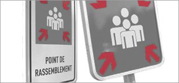 Exercices d'évacuation ERP et point de rassemblement