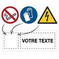 Panneaux et pictogrammes personnalisables
