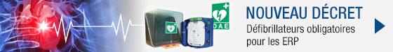 Nouveau décret défibrillateurs obligatoires pour les ERP