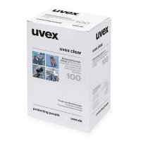 Uvex Lens Cleaning Wipes for Safety Glasses