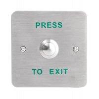 Stainless Steel Push To Exit Switch