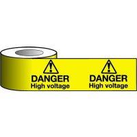 Barrier Warning Tapes - Danger High Voltage