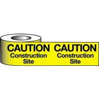 Barrier Warning Tapes - Caution Construction Site