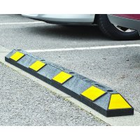 Recycled Rubber Parking Kerbs