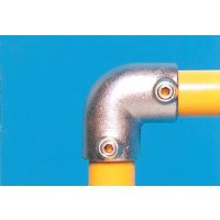 Modular Barrier - 90° Elbow Galvanised Clamp