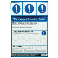 PPE Warehouse Safety Information Point