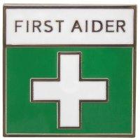 Enamel First Aider Badge