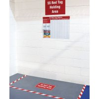 5S Red Tag Station Kits