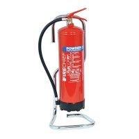 Chromed Fire Extinguisher Stands