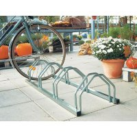 Floor-Mounted Bicycle Rack - 4 Berth
