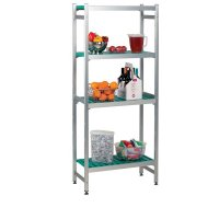 Aluminium Shelving - Extension Bay