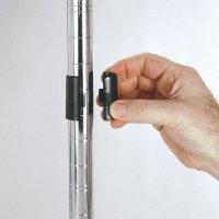 Plastic Shelf Collars for Chrome Wire Shelving