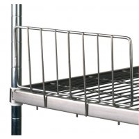 Stainless Steel Shelving - Side Ledges
