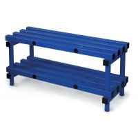 Plastic Cloakroom Furniture – Bench Seating