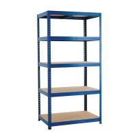 Industrial Shelving 5-Bay Starter Kit