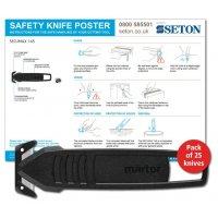 Martor SECUMAX 145 Safety Knife Poster Bundles