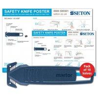 Martor SECUMAX 145 MDP Safety Knife Poster Bundles