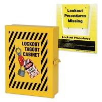 Lockout Wall Cabinet & Procedure Holder Kit