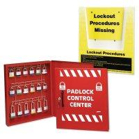 Padlock Control Cabinet & Procedure Holder Kit
