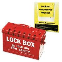 Lockout Box & Procedure Holder Kit