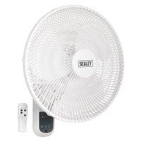 """Sealey 16"""" Remote Control Wall Fan"""