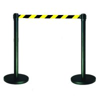 Tensabarrier® Barrier System Coloured Posts/Webbing