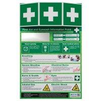 First Aid & Eye Wash Information Point