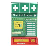 Combined First Aid & Burns Stations - Unstocked