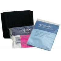 Rebreath & Gloves in Belt Pouch