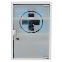 BS8599-1 Catering Plus First Aid Kit In Metal Cabinet