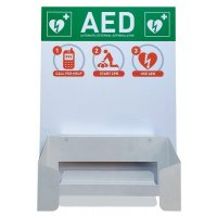 CardiAid Defibrillator Wall Mount And Information Board