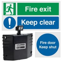 Dorgard™ Fire Door Retainer & Signage Bundle Kit