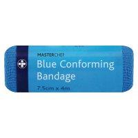 Conforming Blue Bandages