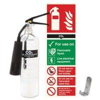 Aluminium Fire Extinguisher & Sign Kits