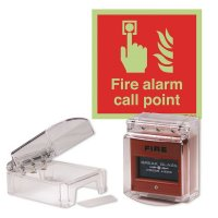 Mini Call Point Cover & Sign Kit