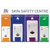 Deb Skin Safety Centre With 4 Dispensers (empty)