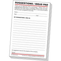 Suggestion/Ideas Pads