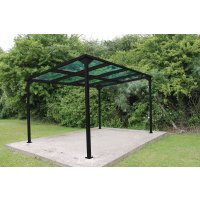 Bedford Cycle Shelter - Main Bay