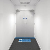 Safety Zoning Floor Marking Kits - Head Protection